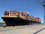 Estados Unidos: Puerto de Wilmington recibe al buque más grande de su historia