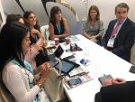Chile comienza a desplegar su agenda en Seatrade Cruise Global