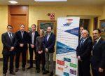 España: Puertos de Valencia y Sagunto promociona su conectividad a empresarios navarros