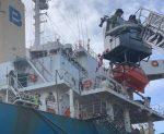 Guardia Costera de Estados Unidos abre investigación tras incendio de un buque en Puerto Morehead