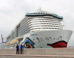 AIDAnova genera el mayor movimiento de pasajeros en el Puerto de Málaga durante 2019