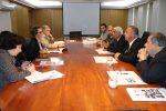 Presidentes de Asociaciones de Ciudades Puerto se reúnen con Ministra de Transportes
