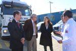Autoridades fiscalizan camiones con mercurio líquido previo a su despacho a través del Puerto de San Antonio