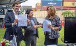 Terminal Puerto Arica y Centro de Formación Técnica Tarapacá firman convenio para fomentar el desarrollo laboral