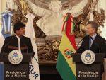Morales y Macri acuerdan reubicar zona franca boliviana en Rosario