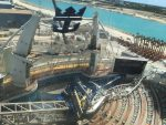 Royal Caribbean cancela tres salidas del Oasis of the Seas tras incidente con grúa de construcción en Bahamas