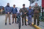Portuaria Corral dona dos bicicletas a Carabineros
