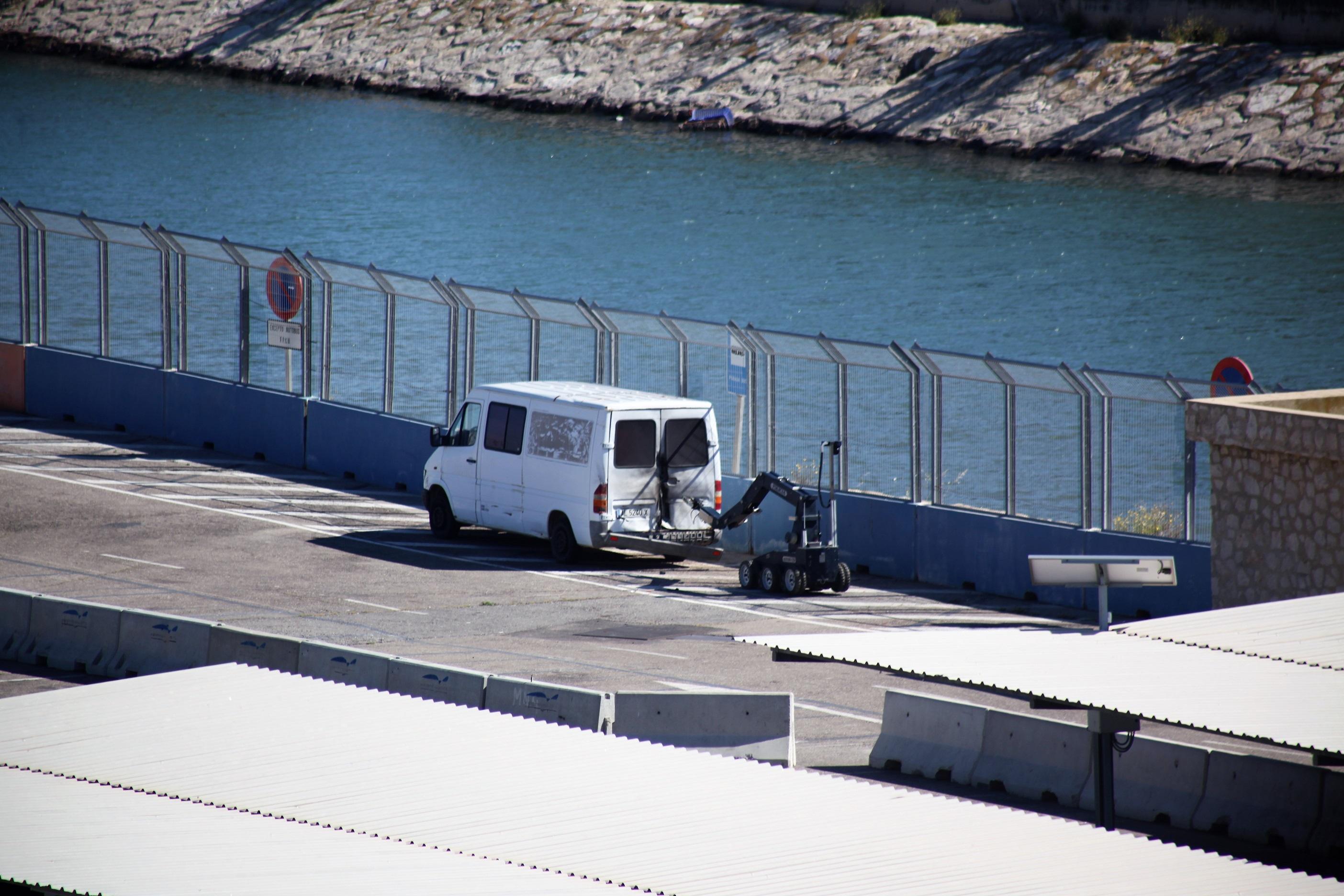 [Galería] Puerto de Valencia fue escenario de ejercicio antiterrorista de la Armada española