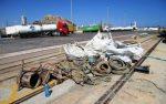 Puerto de Alicante extrae más de 3 toneladas de basura del fondo marino