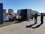 Equipamientos del Rally Mundial zarpan desde puertos de San Vicente y Coronel