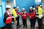 Director Nacional de Aduanas visita instalaciones de TPS donde funcionarios realizan aforos