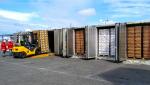 Terminal extraportuario de Agunsa en San Antonio realiza primera faena de desconsolidación de fruta en tránsito