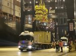 [Video e imágenes] Embarcan contenedores con mercurio líquido en Puerto San Antonio