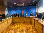 EFE, Fesur e Intendencia abordan proyectos ferroviarios de carga y pasajeros del Bio Bio