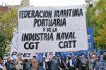 Argentina: Portuarios inician paro en terminales de Buenos Aires