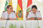 Canciller boliviano asegura que encuentro entre presidentes Morales y Vizcarra se centrará en el ferrocarril bioceánico