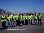 ANFAC visita nuevos accesos para tráfico de vehículos en Puerto de Valencia