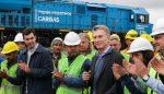 Argentina: Presidente Macri inaugura 700 kilómetros de vías renovadas del Belgrano Cargas que conectarán con los puertos de Rosario