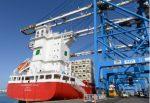 Malta Freeport recibe su primer primer barco de contenedores con propulsión GNL