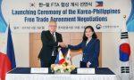 Corea del Sur y Filipinas firman declaración conjunta para avanzar en negociaciones de Tratado de Libre Comercio