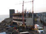 Nuevo edificio corporativo de Puerto San Antonio presenta cerca del 40% de avance