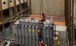 ATI realiza maniobra tándem de equipo transformador de 96 toneladas