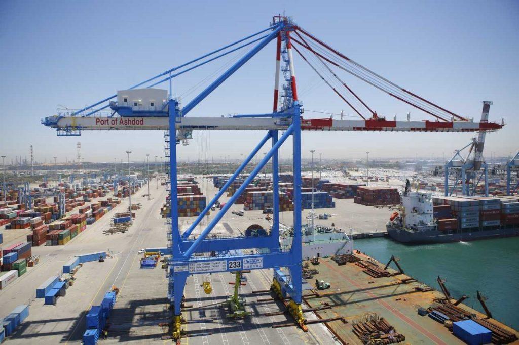 La grúa STS más grande de Israel hace su arribo al Puerto de Ashbod