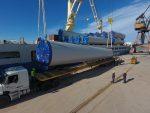 Argentina: Puerto de Bahía Blanca descargará más de 200 aerogeneradores en 2019