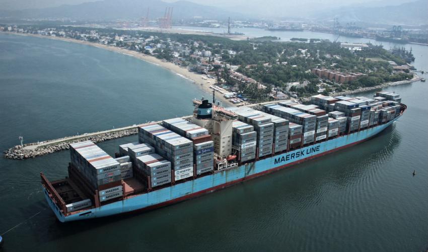 Maersk detalla el funcionamiento de su cadena logística en el mercado mexicano