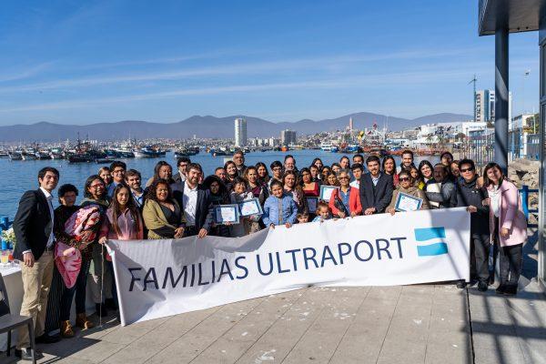 80 familias de Coquimbo son beneficiadas con programa de Ultraport y Fundación Rodelillo