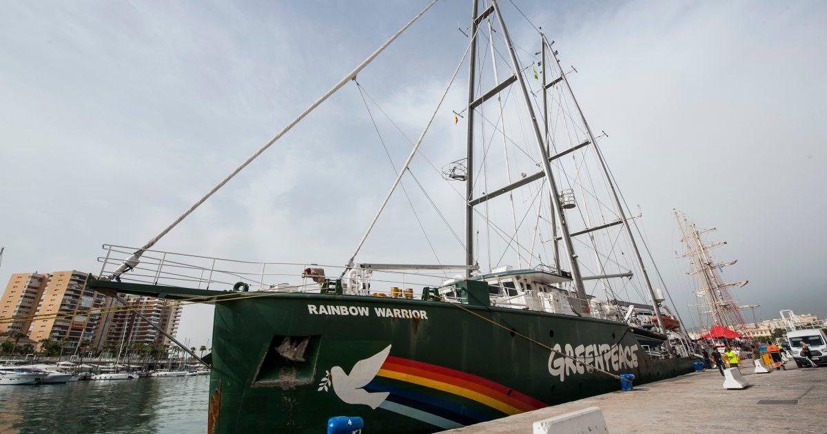 """Greenpeace cancela visita del """"Rainbow Warrior"""" al Puerto de Vigo"""