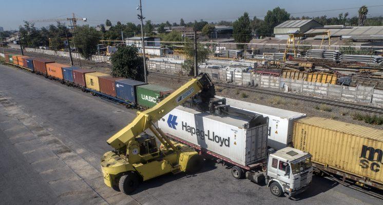 SAAM Logistics incrementa en 500% la carga movilizada a través del servicio ferroviario entre San Antonio y Renca
