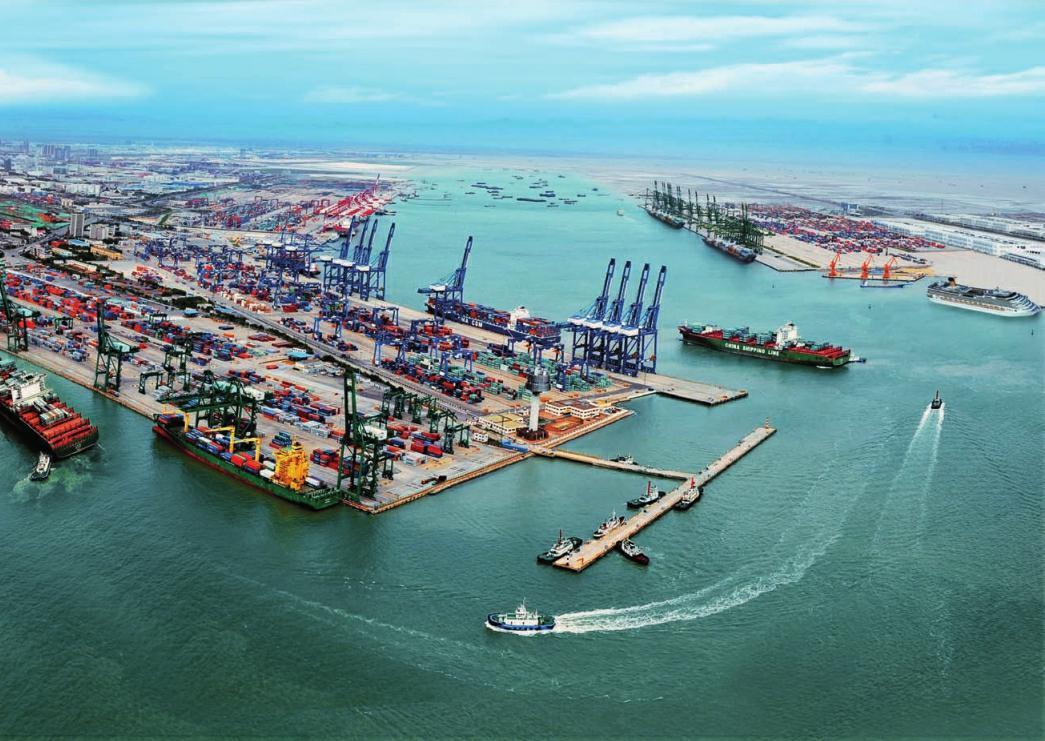 Puerto de Tianjin incrementa en 1,7% su rendimiento de carga en el primer semestre