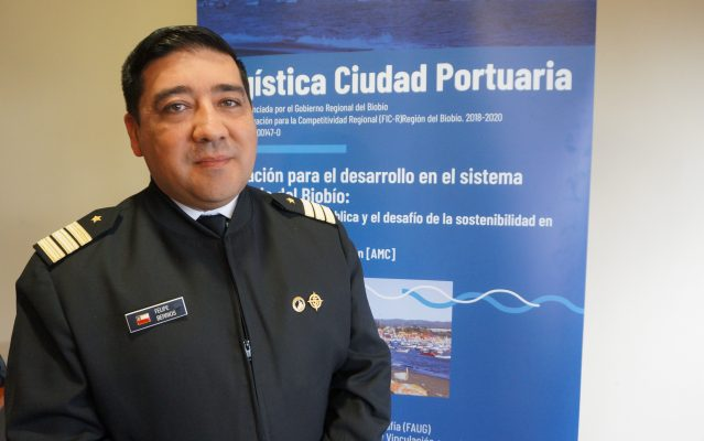 Felipe Berríos: Armada de Chile en el trabajo colaborativo para la innovación del sistema portuario