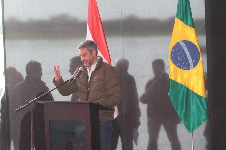 """Presidente paraguayo asegura que nuevo puente entre su país y Brasil concretarán """"la tan anhelada conectividad bioceánica"""""""
