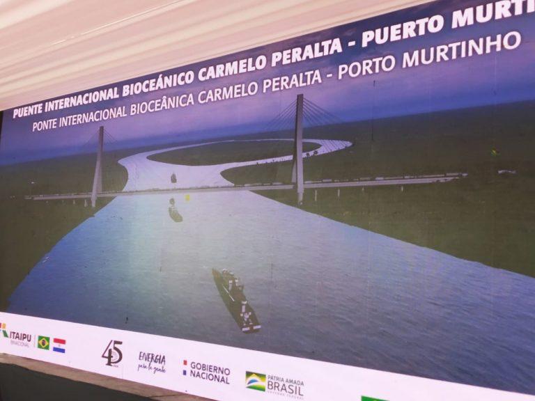 Paraguay y Brasil lanzan licitación para puente que servirá al corredor bioceánico que desembocará en puertos chilenos