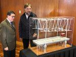 Presentan diseño del nuevo puente ferroviario sobre el Bio Bio