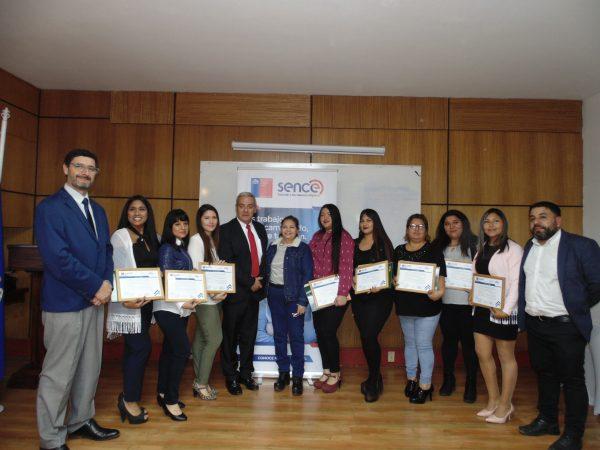 Ultraport Arica entrega de becas laborales a familias de sus trabajadores