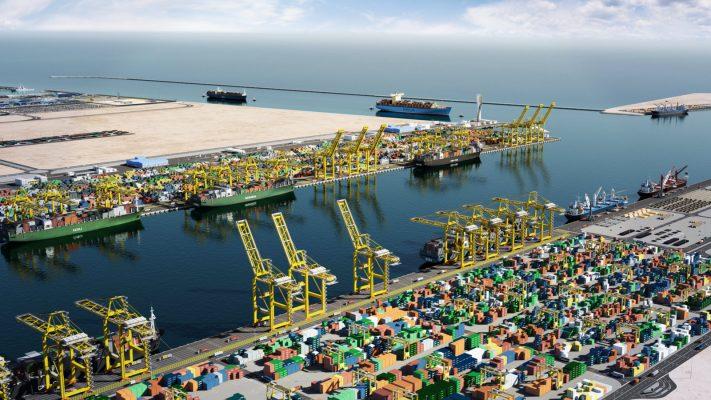 Puertos de Qatar presentan aumento en manejo de carga en enero