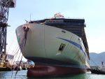 Mitsubishi Heavy lanza y bautiza el nuevo ferry para Hankyu Ferry