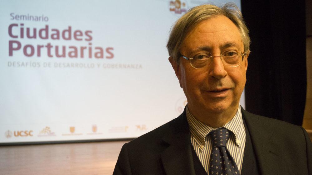 Presidente de RETE asegura que relación ciudad puerto deberá desarrollarse con compromiso medioambiental