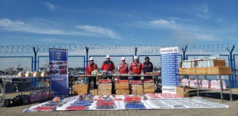 Aduana de Talcahuano decomisa 154 mil cajetillas de cigarrillos y más de 50 mil productos falsificados