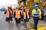 Delegación de mujeres agentes de aduana visita TPS
