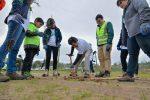 """DP World Lirquén planta 50 aromos australianos en el marco de su programa """"Go Green Week"""""""