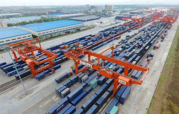 China: Puerto ferroviario internacional de Chengdu muestra 13% de crecimiento en sus operaciones