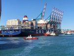 Recalada del CMA CGM Tanya abre operaciones del servicio Eurosal en Puerto Central