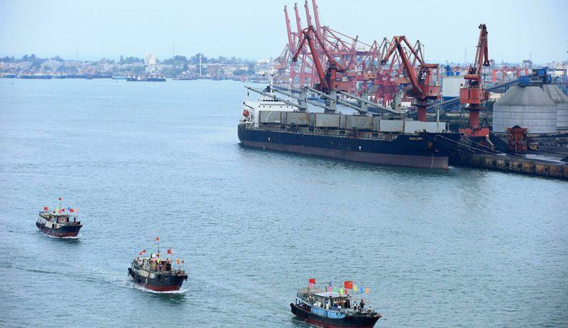 China construye corredor logístico marítimo-terrestre