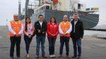 Ministra de Transportes de Perú destaca modernización del Puerto de Salaverry tras inicio de servicio feeder