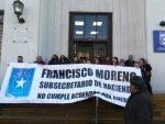"""Presidenta de Anfach asegura que adhesión al paro en Aduanas es """"extensiva"""""""