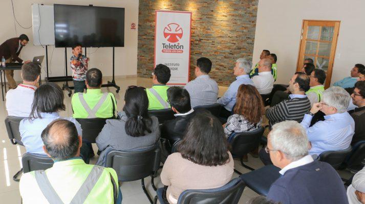 Puerto de Iquique y Teletón promueven inclusión